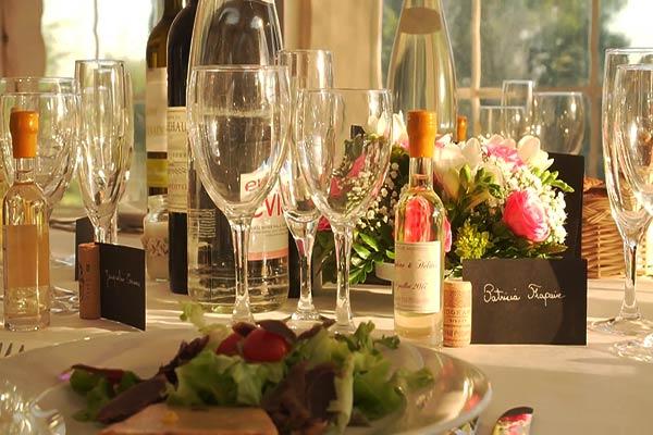Mariage - repas gastronomique