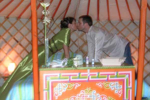 Mariage en yourte